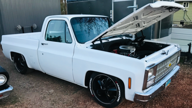 1980 White Chevrolet C-10 Cab & Chassis with White interior