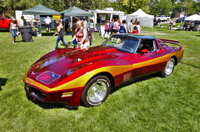 1980 c3 custom corvette stingray restomod pro touring museum condition for sale photos. Black Bedroom Furniture Sets. Home Design Ideas