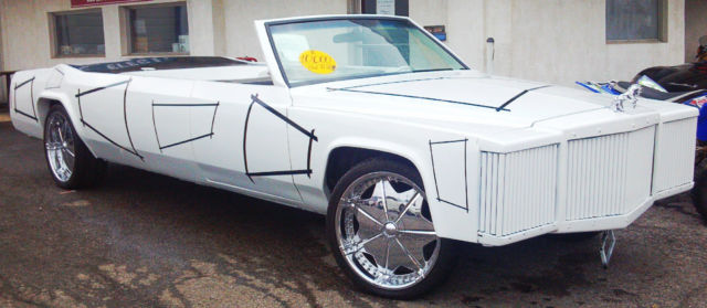 1980 Cadillac DeVille Hot Tub Car