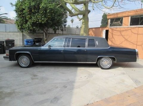 1980 Cadillac Fleetwood limousine