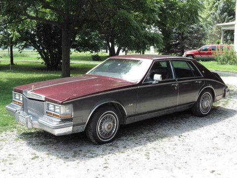 1980 Cadillac Seville GOLD TRIM