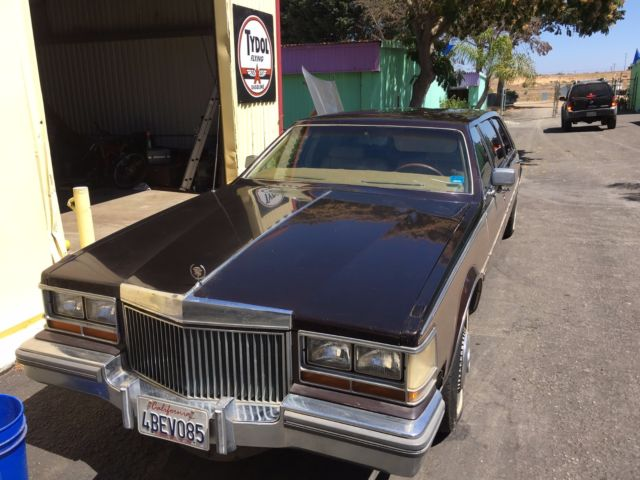 1980 Cadillac Seville limo