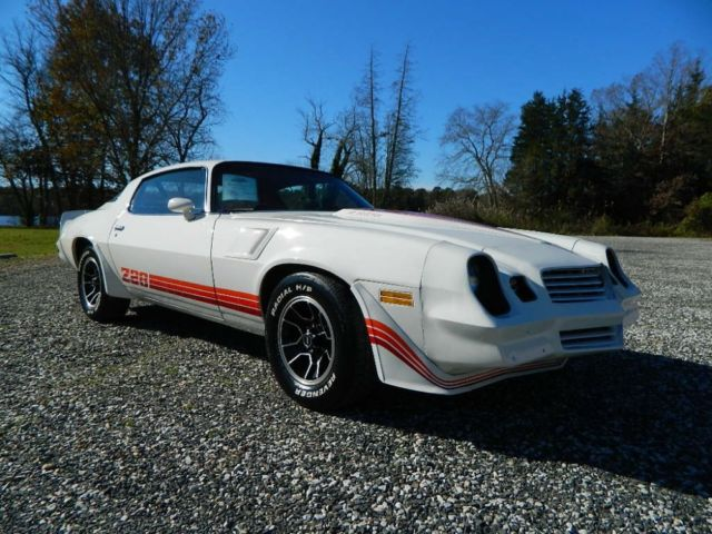 1980 Chevrolet Camaro Z/28 Air Induction 350