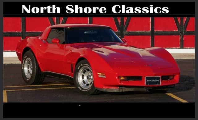 1980 Chevrolet Corvette -AWESOME LOW MILEAGE LITTLE RED CORVETTE-NICE COND