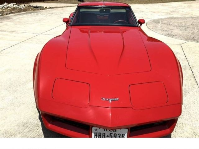 1980 Chevrolet Corvette t-tops
