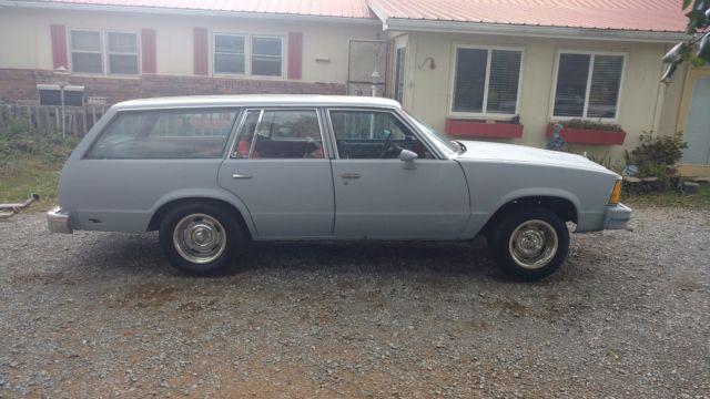 1980 Chevrolet Malibu Station Wagon NO ENGINE NO TRANSMISSION for