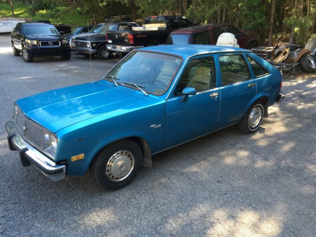 1980 chevy chevette for sale photos technical specifications description topclassiccarsforsale com