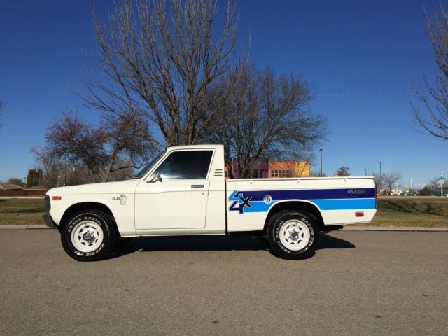 1980 CHEVY LUV MIKADO 4X4 4-SPEED MANUAL WITH ONLY 76 737
