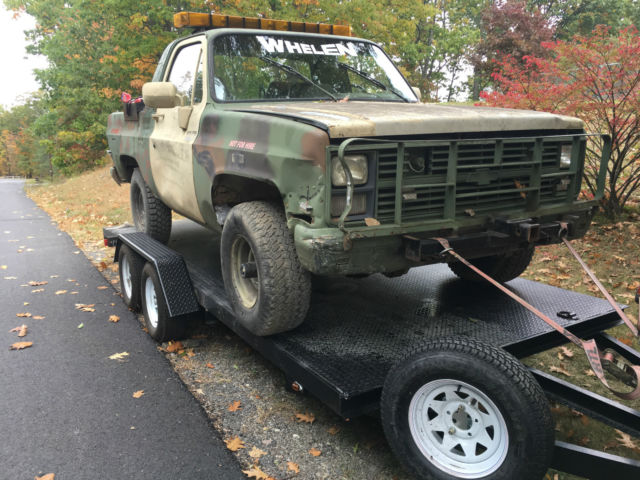 1980 Chevrolet Blazer MILITARY TOW WRECKER RAT RODS