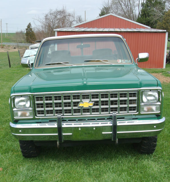 1980 chevy silverado 3 4 ton 4 wheel drive truck for sale. Black Bedroom Furniture Sets. Home Design Ideas