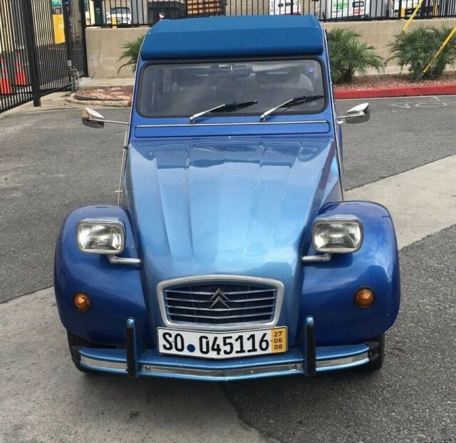 1980 citroen 2cv for sale  photos  technical