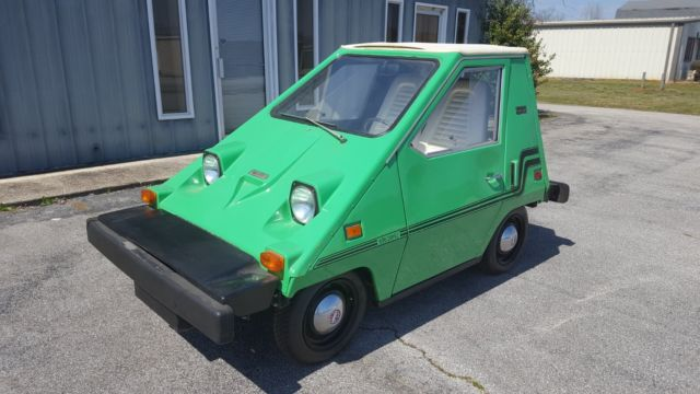 1980 Comuta Car Citicar Electric Vehicle Never Driven