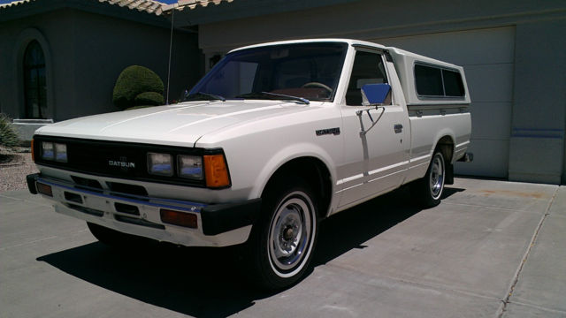 1980 datsun nissan pickup 78 000 mile arizona truck from new for sale photos technical. Black Bedroom Furniture Sets. Home Design Ideas