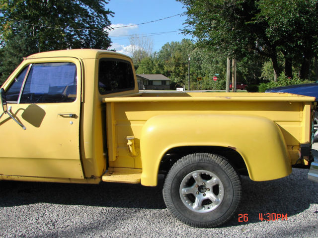 1980 Dodge Other Pickups Stepside