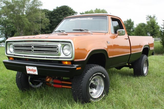 1980 Dodge Power Wagon Power Wagon