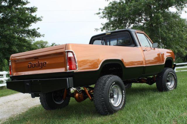 Dodge Power Wagon Truck X Rotisserie Restored Mopar Show Winner on 1977 Dodge Power Wagon Dash