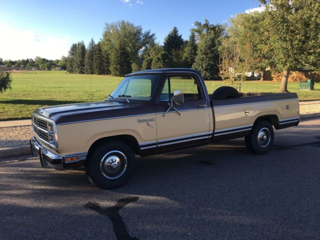 1980 Dodge Other Pickups D150 2wd