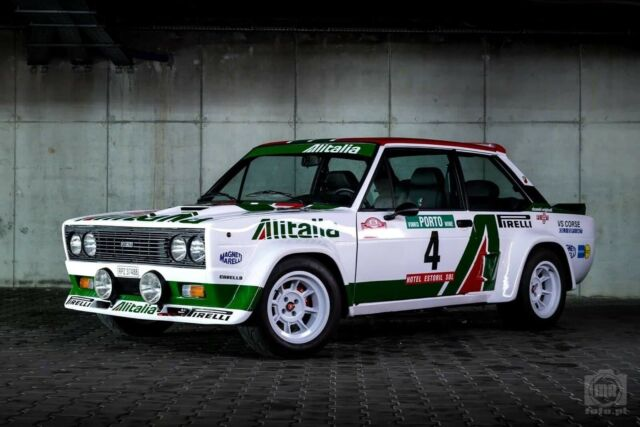 1980 Fiat 131 Abarth- Tribute 1980 Fiat 131 Abarth- Tribute