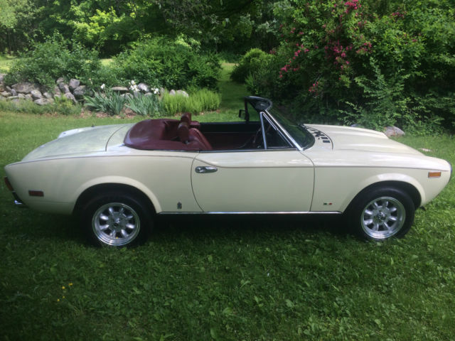 1980 Fiat Other ROADSTER, CONVERTIBLE,
