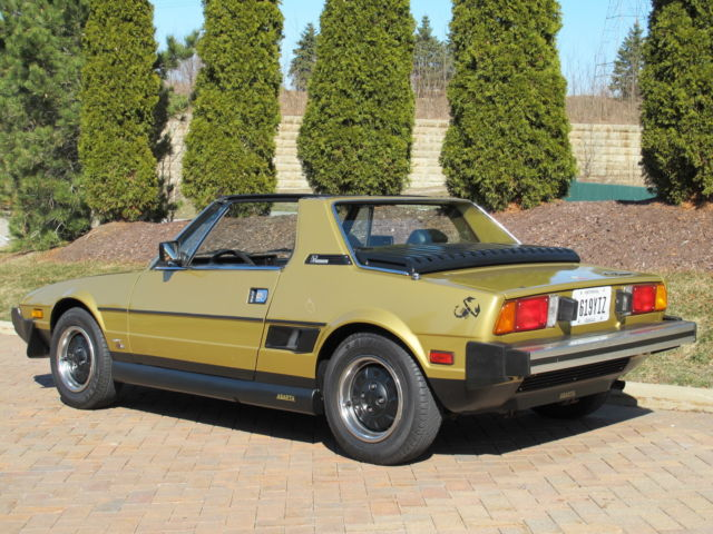 1980 Fiat Other Bertone Convertible