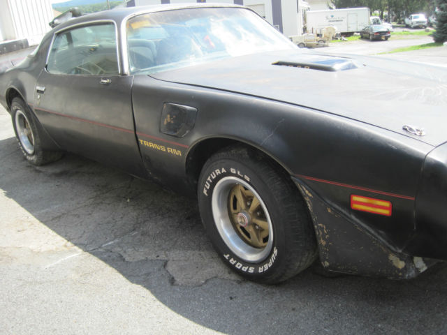 1980 Pontiac Trans Am BLACK  HARD TOP