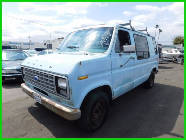 1980 Ford E-Series Van