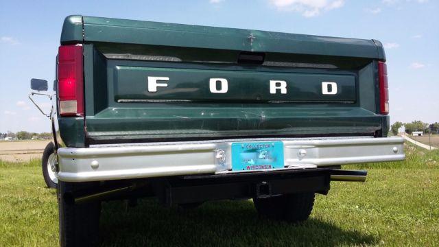 1980 ford f 350 custom 4 speed 4x4 pickup all original 44k 1985 Ford F -150 1985 Ford F -150