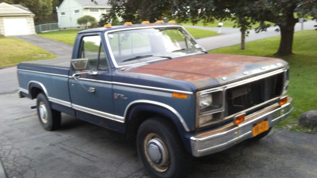 1980 Ford F250 2 Wheel Drive Camper Special For Sale Photos