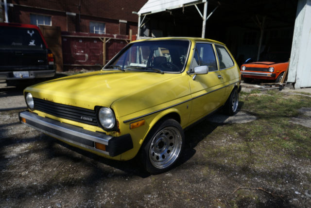 1980 Ford Fiesta Ghia No Reserve For Sale Photos