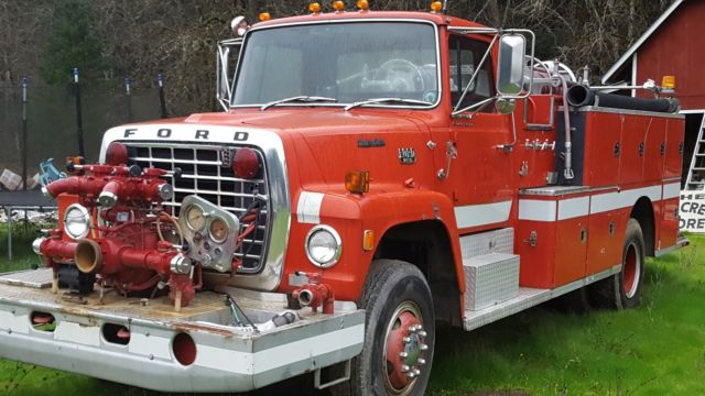 1980 ford fire truck for sale photos technical specifications description. Black Bedroom Furniture Sets. Home Design Ideas