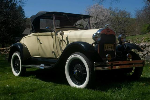 1980 Ford Model A Shay Model A