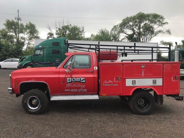 1980 GMC C30 Custom Utility Welding Rig Truck for sale