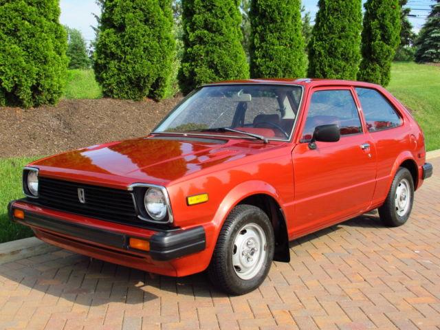 1980 Honda Civic 1500 5-speed, 28,000 original miles. Collector's condition for sale: photos ...