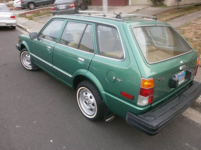 1980 honda civic wagon one owner 44k miles for sale. Black Bedroom Furniture Sets. Home Design Ideas