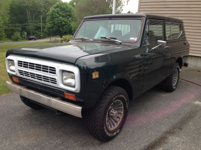 1980 International Harvester Scout Scout II
