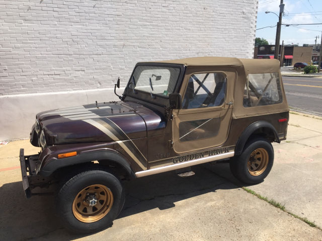 1980 Jeep CJ Golden Hawk 4X4