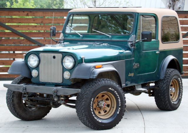 1980 Jeep CJ GOLDEN EAGLE