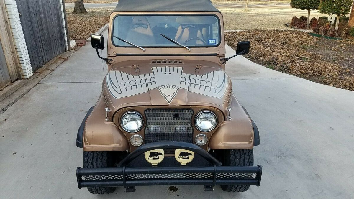 1980 Jeep Cj7 Golden Eagle For Sale Photos Technical