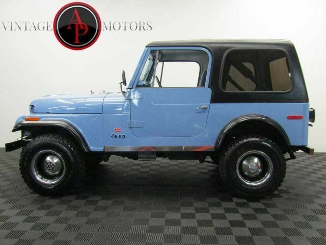 1980 Jeep CJ LEVI EDITION WITH PAPERWORK!