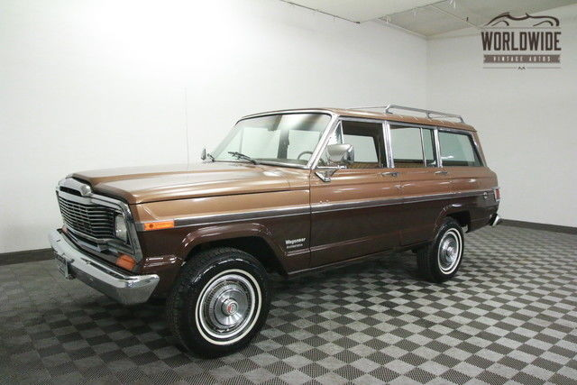 1980 Jeep Wagoneer CLEAN! THROTTLE BODY FUEL INJECTION. AC!