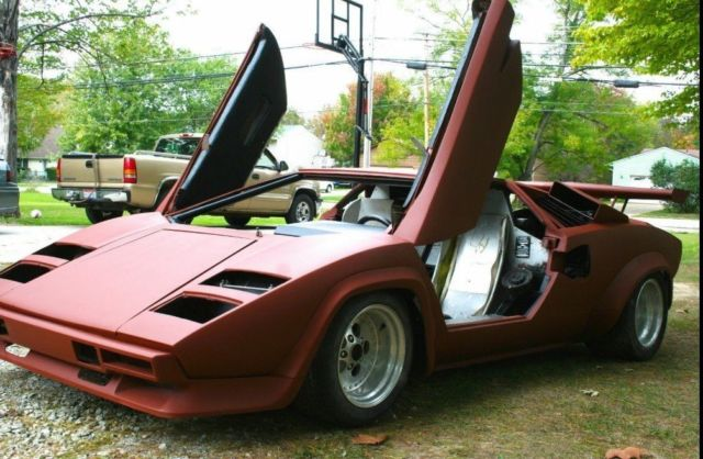 1980 Lamborghini Countach 4000s For Sale Photos