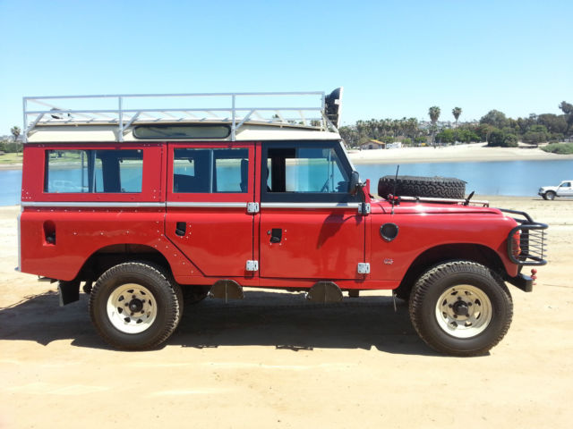 1980 land rover 109 series iii series 3 estate shooting brake not discovery for sale photos. Black Bedroom Furniture Sets. Home Design Ideas