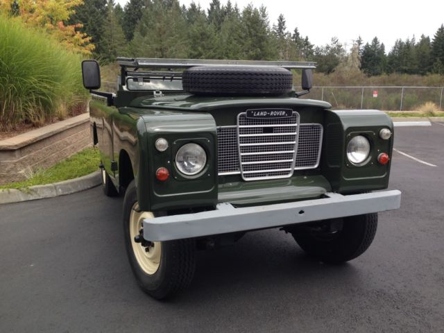 1980 Land Rover Series III FFR