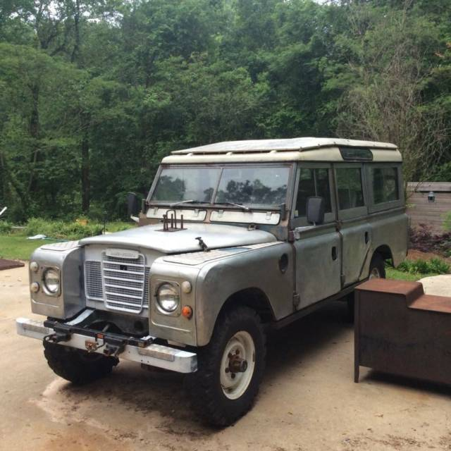 Used Land Rovers For Sale: 1980 Land Rover Series Pre Defender 109 For Sale: Photos, Technical Specifications, Description