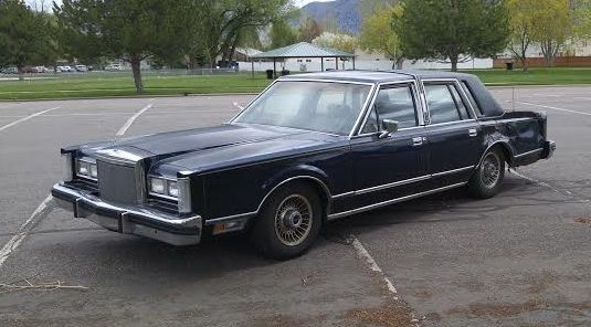 1980 Lincoln Town Car Continental