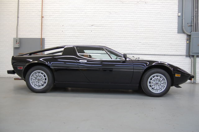 1980 Maserati Other Merak SS Coupe Black. very well cared for