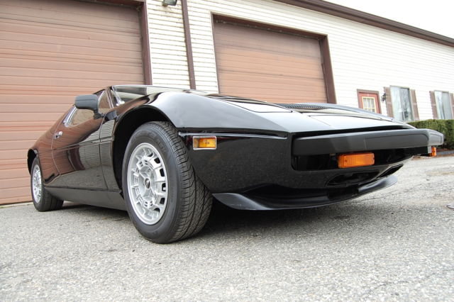 1980 Maserati Other Merak SS Coupe Black/Tan