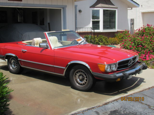 1980 Mercedes-Benz 400-Series 450 SL