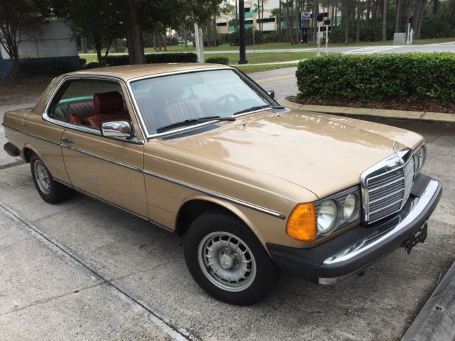 1980 Mercedes-Benz 300-Series WDB123 COUPE