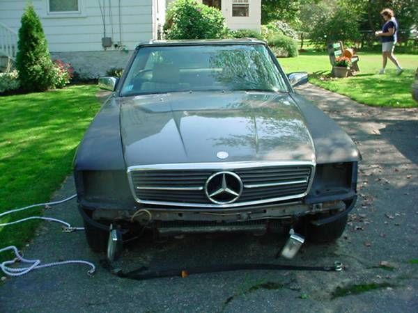 1980 Mercedes-Benz SL-Class European 280 SL 2 seater roadster